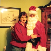Donnie as Santa 2004